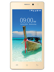 Lava A82 5 Inch Lollipop 3G Smartphone (RAM : 1GB ROM : 8GB) Gold