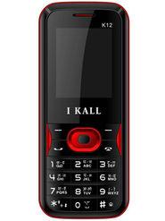 I Kall K12 Dual Sim Mobile Phone - Red