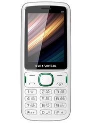 Usha Shriram B1 Feature Phone (White and Green)
