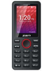 ZEN X61 Dual SIM Feature Phone (Black Red)