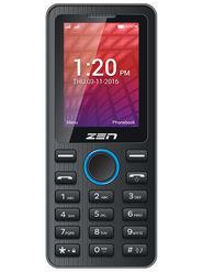 ZEN X61 Dual SIM Feature Phone (Black Blue)