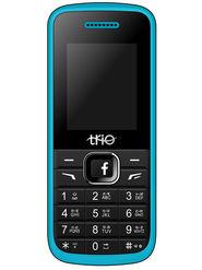 Trio T4 Star Dual Sim Feature Phone (Blue Black)