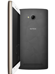 Intex Cloud Matte 5 inch Lollipop 3G Smart Phone (Grey Black)