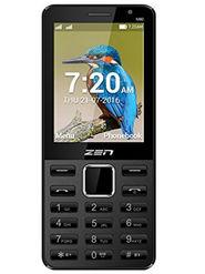 ZEN M80 Dual SIM With Selfie Camera Feature Phone (Black Red)