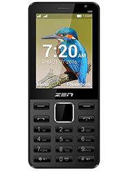ZEN M80 Dual SIM With Selfie Camera Feature Phone (Black Gold)