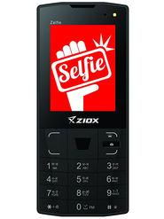 Ziox Zelfie Dual SIM & Dual Camera With Front Flash Feature Phone (Black)