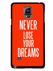 Snooky Designer Print Hard Back Case Cover For Samsung Galaxy Note 4 - Red