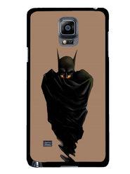 Snooky Designer Print Hard Back Case Cover For Samsung Galaxy Note 4 - Black