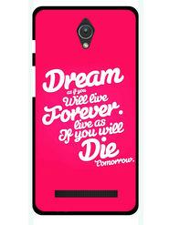 Snooky Designer Print Hard Back Case Cover For Asus Zenfone C ZC451CG - Rose Pink