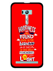 Snooky Designer Print Hard Back Case Cover For Asus Zenfone Selfie ZD551KL - Red