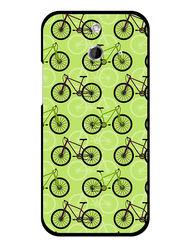 Snooky Designer Print Hard Back Case Cover For HTC One E8 - Cream