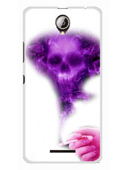 Snooky Designer Print Hard Back Case Cover For Lenovo A5000 - Purple