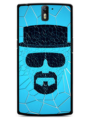 Snooky Designer Print Hard Back Case Cover For OnePlus One - Blue