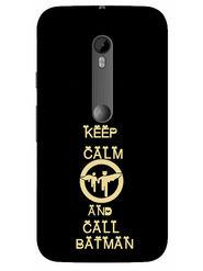 Snooky Designer Print Hard Back Case Cover For Motorola Moto G (Gen 3) - Black