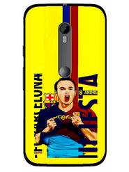 Snooky Designer Print Hard Back Case Cover For Motorola Moto G (Gen 3) - Yellow