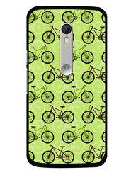 Snooky Designer Print Hard Back Case Cover For Motorola Moto X Play - Cream
