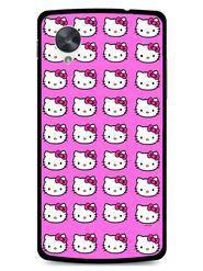 Snooky Designer Print Hard Back Case Cover For LG Google Nexus 5 - Pink