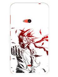 Snooky Designer Print Hard Back Case Cover For Nokia Lumia 625 - White