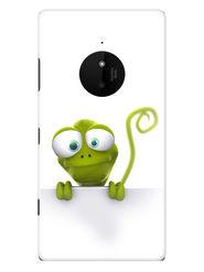 Snooky Designer Print Hard Back Case Cover For Nokia Lumia 830 - Green