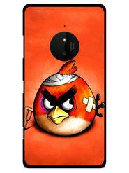 Snooky Designer Print Hard Back Case Cover For Nokia Lumia 830 - Orange