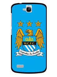 Snooky Designer Print Hard Back Case Cover For Huawei Honor Holly - Blue