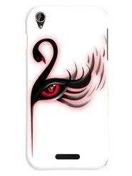 Snooky Designer Print Hard Back Case Cover For Lava Iris X1 mini - Multicolour