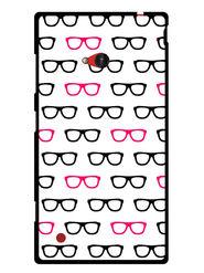 Snooky Designer Print Hard Back Case Cover For Nokia Lumia 720 - White