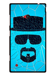 Snooky Designer Print Hard Back Case Cover For Nokia Lumia 720 - Blue