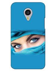 Snooky Digital Print Hard Back Case Cover For Meizu MX4 Pro - Blue