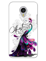 Snooky Digital Print Hard Back Case Cover For Meizu MX4 Pro - White