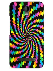 Snooky Digital Print Hard Back Case Cover For Micromax Bolt Q335 - Multicolour