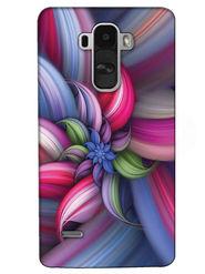 Snooky Digital Print Hard Back Case Cover For LG G4 Stylus - Blue