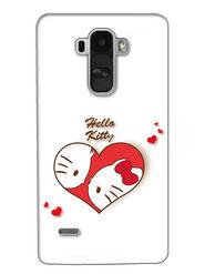Snooky Digital Print Hard Back Case Cover For LG G4 Stylus - Cream