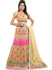 Styles Closet Designer Net Semi Stitched Lehenga Choli -Bnd-Pc5004