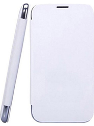 Camphor Flip Cover for Gionee P3 - White