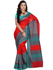 Florence Bhagalpuri silk Printed  Sarees FL-10949