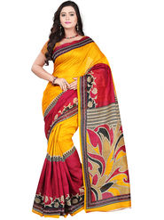 Florence Bhagalpuri silk Printed  Sarees FL-10958