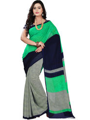 Florence Faux Georgette  Printed  Sarees FL-11006