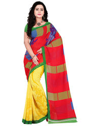 Florence Faux Georgette  Printed  Sarees FL-11010
