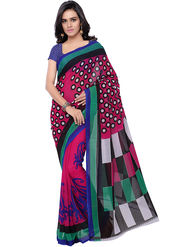 Florence Printed Faux Georgette Sarees -FL-11231