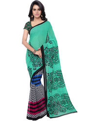 Florence Printed Faux Georgette Sarees -FL-11238