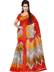 Florence Printed Bhagalpuri Silk Sarees FL-11703