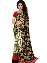 Florence Printed Faux Georgette Sarees FL-11731