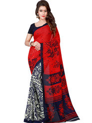 Florence Printed Faux Georgette Sarees FL-11734