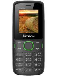 Hitech Micra 115 Dual Sim Mobile - Black & Green