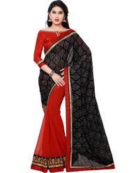 Indian Women Georgette Saree -IC40409