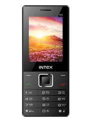 Intex Turbo M5 Dual Sim Phone - Black & Blue
