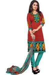 Khushali Fashion Crepe Printed Unstitched Dress Material -KPNDV33009