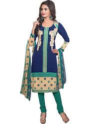 Khushali Fashion Crepe Printed Dress Material -Kpplpl8006