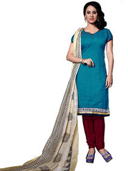 Khushali Fashion Chanderi Self Dress Material -Ncekl1009